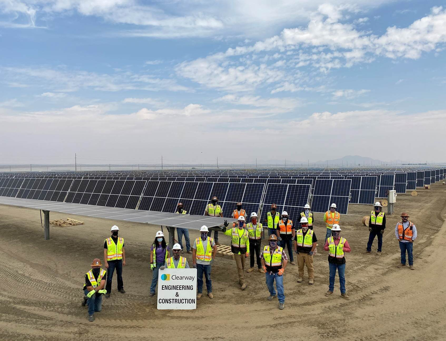 Clearway powers the Rosamond Central Solar Project