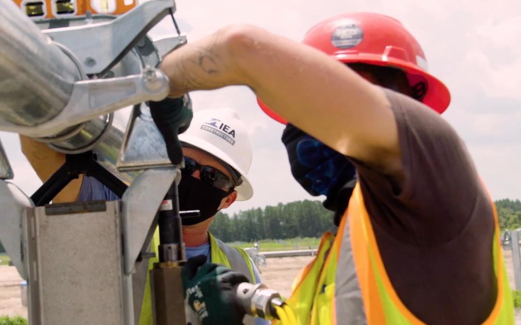 Silicon Ranch awards construction contract for IEA Lumpkin Solar Farm