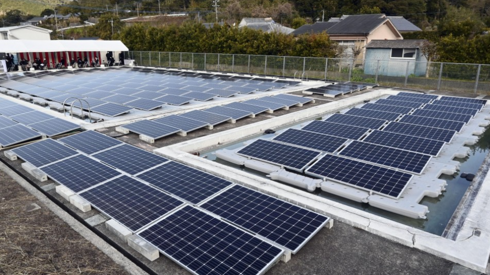 Japanese Company Uses School Pools To Improve Solar System Efficiency - Kyodo News Plus