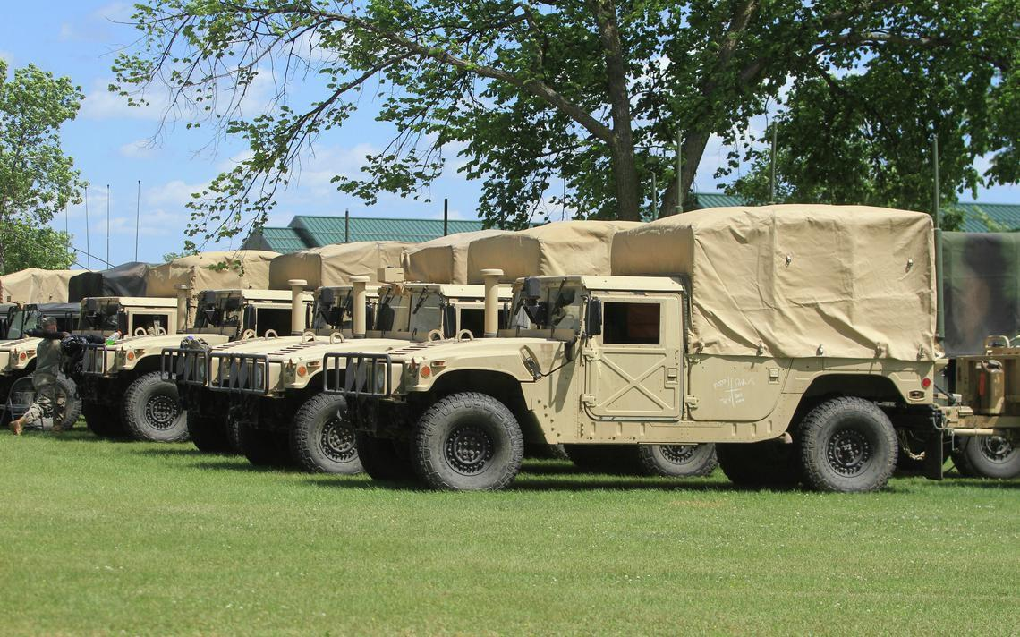 Plans to build a new Minnesota National Guard Armory in New Ulm, Minn., have been in the works since 2014. (Forum News Service file photo)