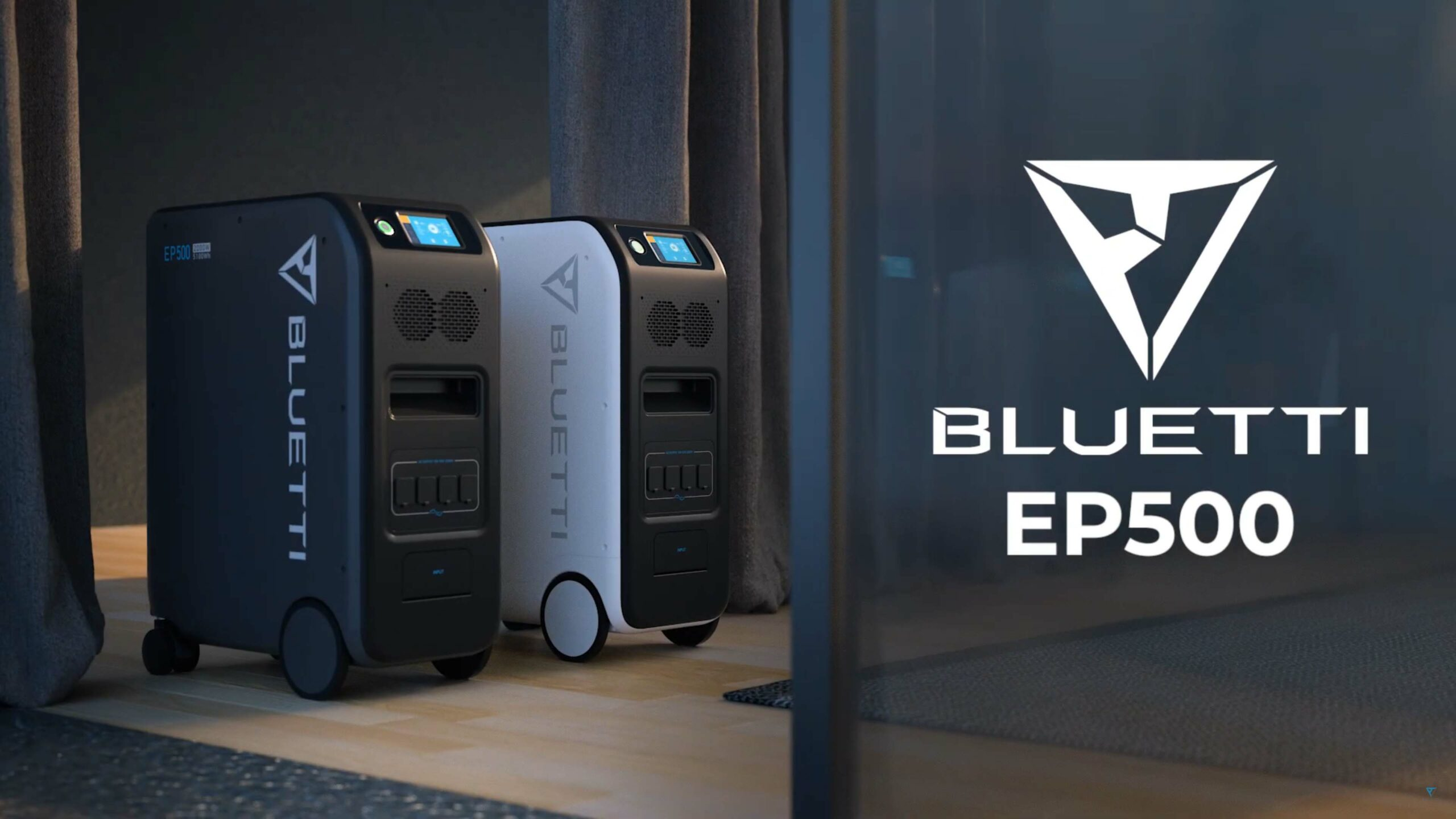 Get to know the BLUETTI EP500: Huge solar battery with an output of 5100 watt hours, with which you can cut the cable to the power grid - Wccftech