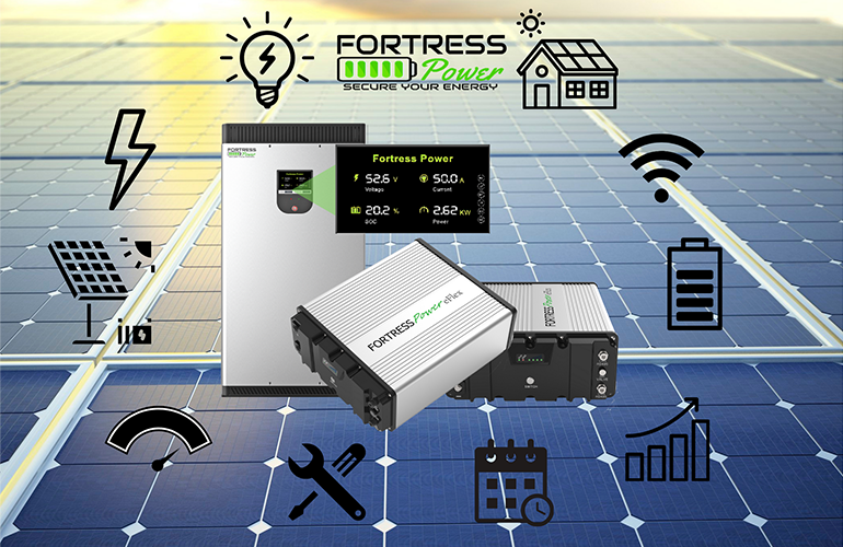 Solar Spotlight: Fortress Power for dimensioning solar batteries for a long service life of the system - Solar Power World