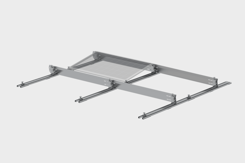 PV-ezRack introduces a new range of solar mounting systems for flat roofs