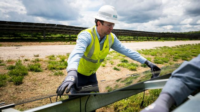Duke Energy is breaking new ground with the solar project in North Carolina