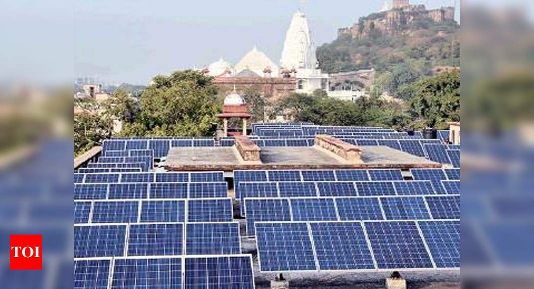 Rajasthan: Solar System Manufacturing Is Experiencing A New Beginning Of The Service Boom - Times of India