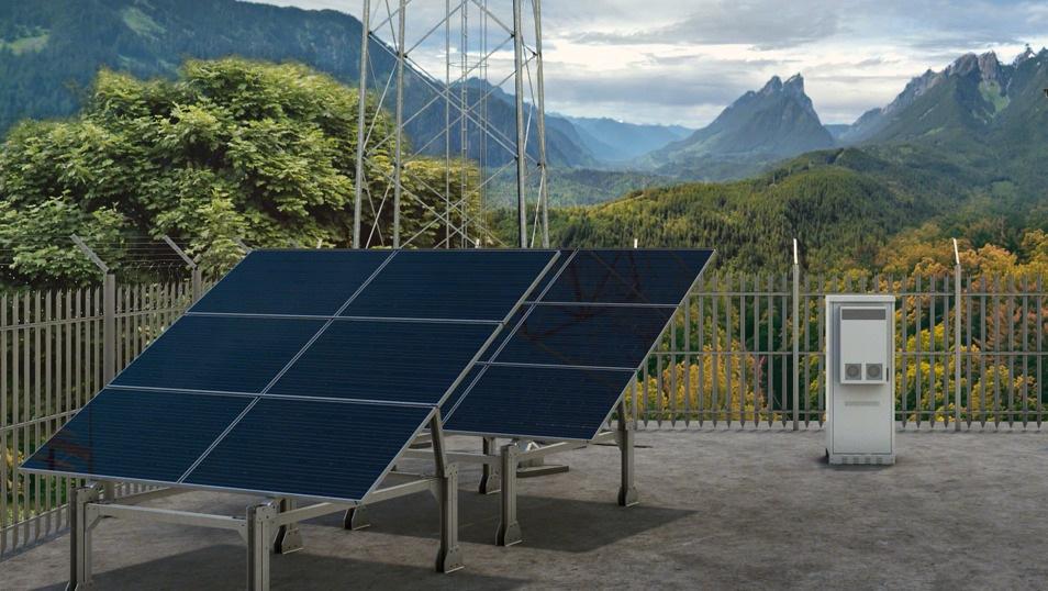 Solar powered mobile websites - Ericsson