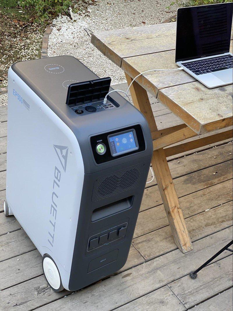 Now at Kickstarter: The mobile solar battery Bluetti EP500 - iMore
