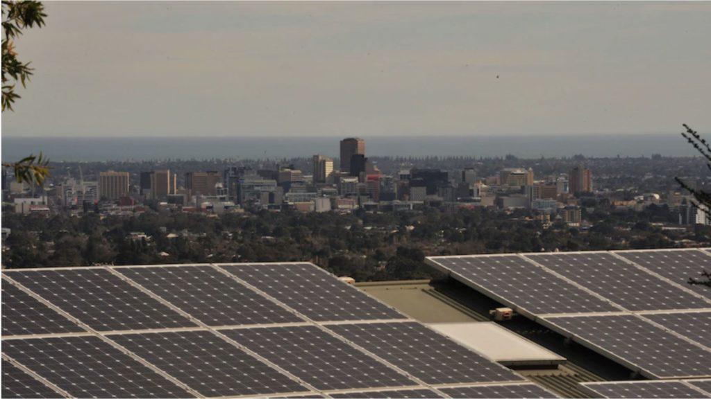 solar panel installation on roofs