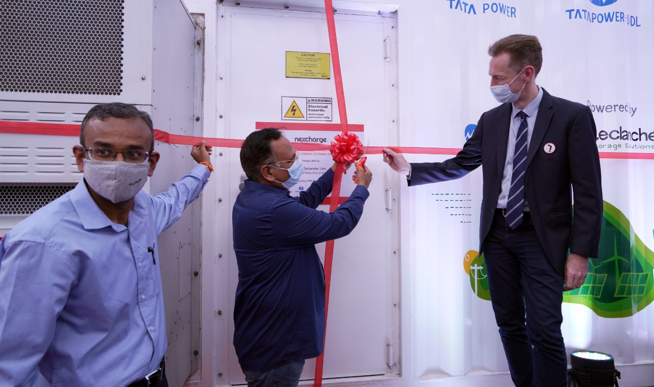 India's first on-grid municipal energy storage system was inaugurated in Delhi - Energy Storage News