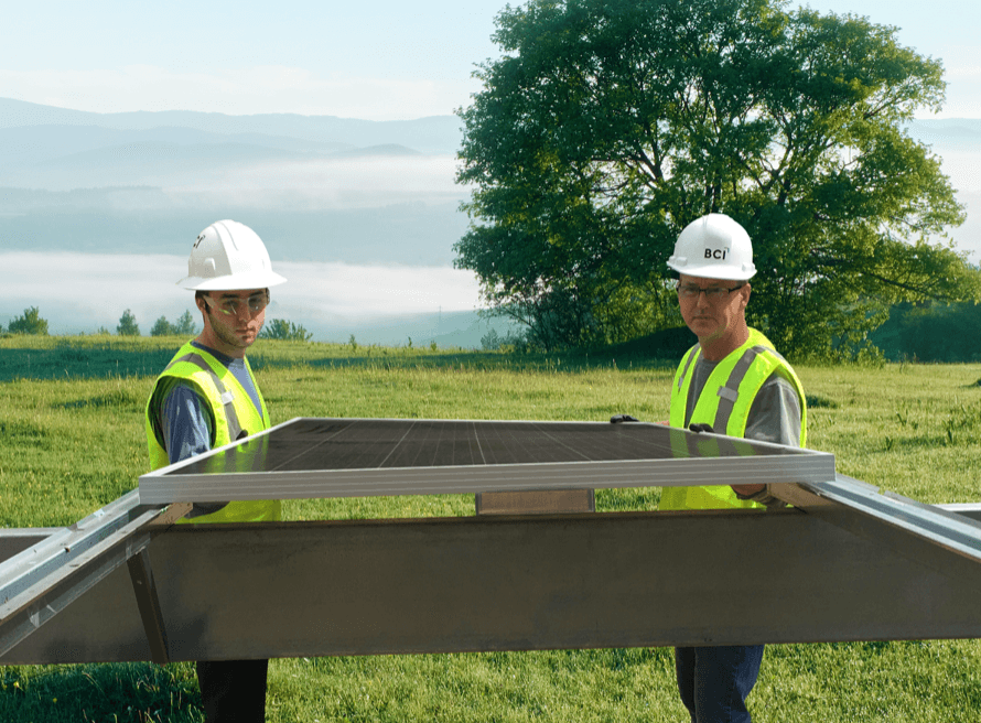 BCI Engineering introduces new floor-mounted solar racking system