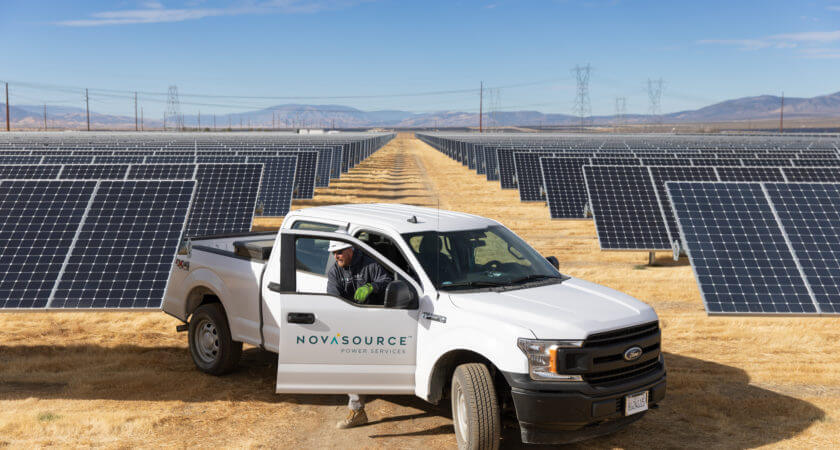 NovaSource expands its corporate offering with First Solar's North American O&M business