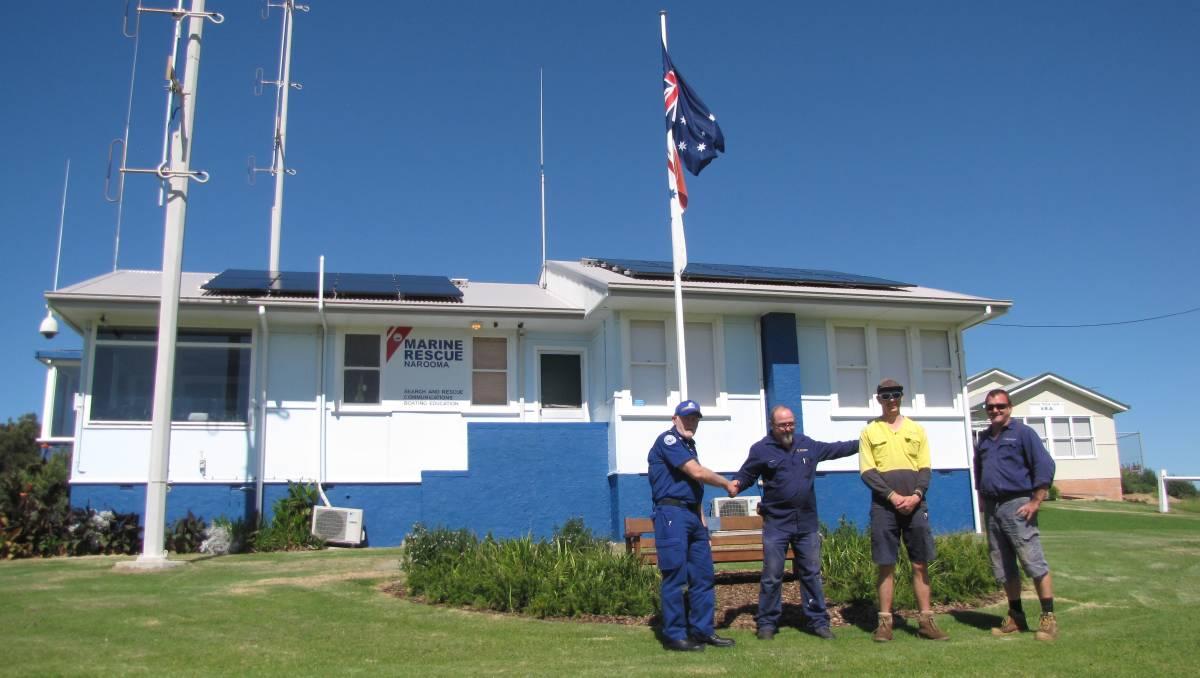 Narooma Marine Rescue Receives Solar Battery Backup - Narooma News