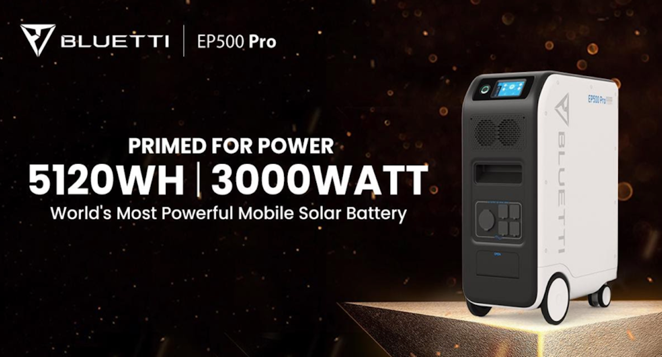Introducing the EP500 Pro, Bluetti's Most Powerful Mobile Solar Battery Yet
