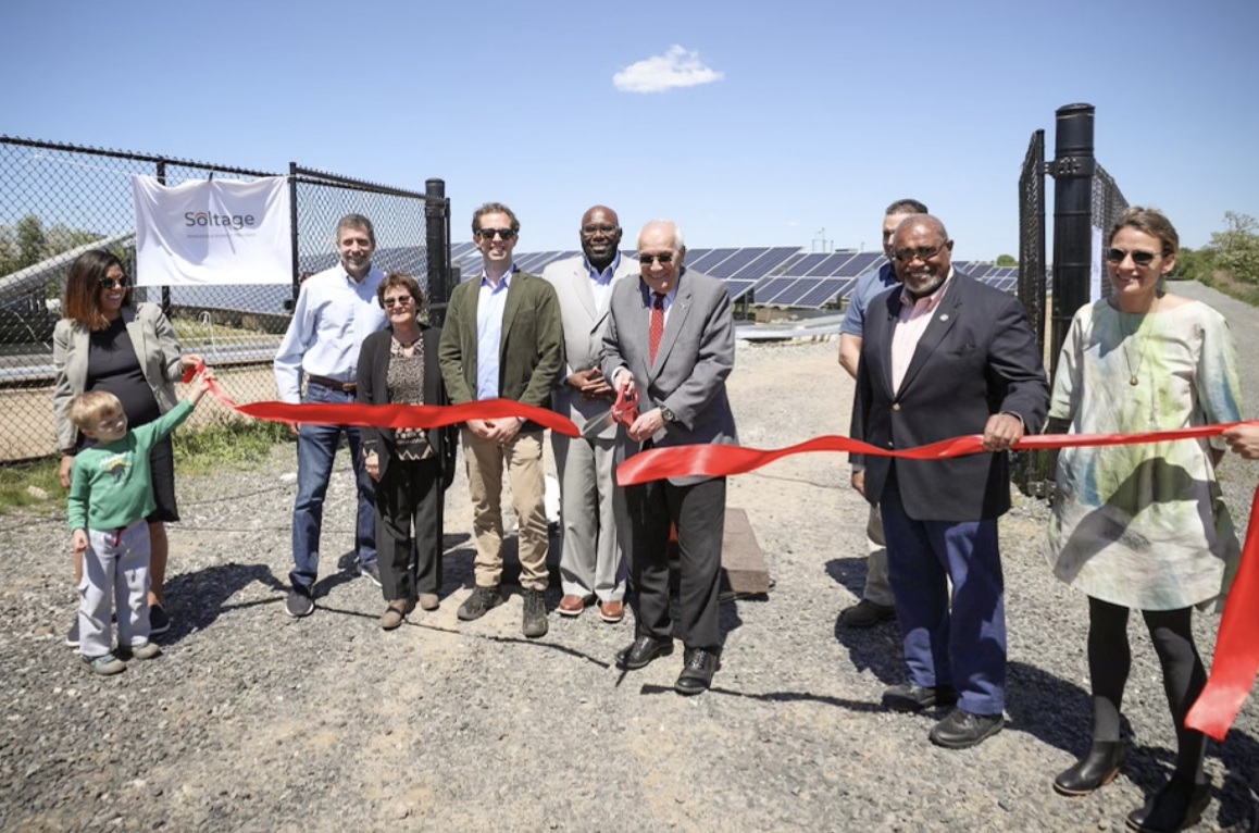 New Jersey launches first community solar project built on a former landfill