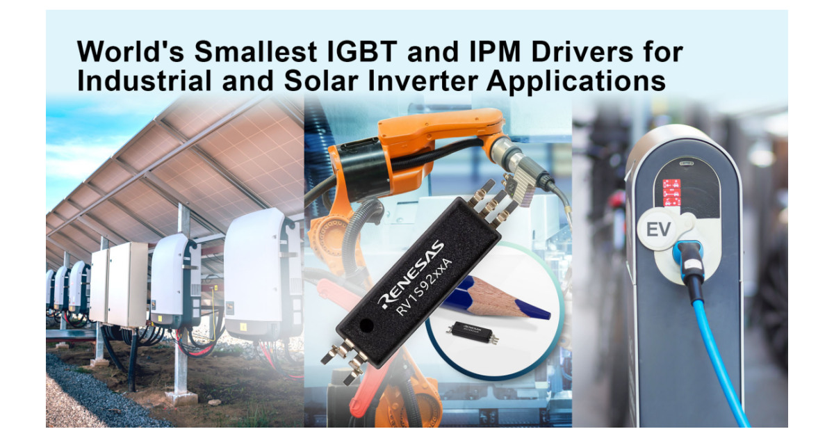 Renesas Expands Portfolio of World's Smallest Photocouplers for Industrial Automation and Solar Inverter Applications - Business Wire