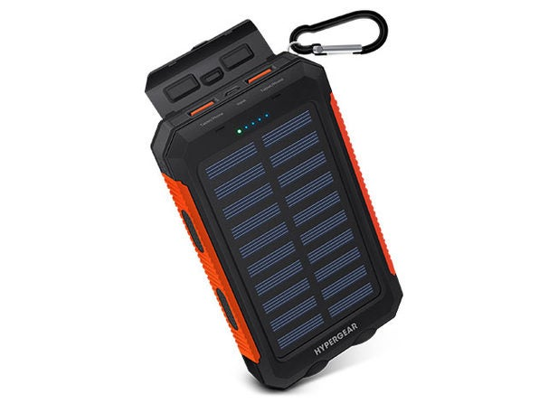 Charge directly from the sun!  Get this dual port solar battery for $ 35    The weather channel - Article from the weather channel    weather.com - The weather channel