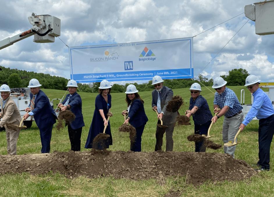 BrightRidge, Silicon Ranch Groundbreaking for solar project in Tennessee