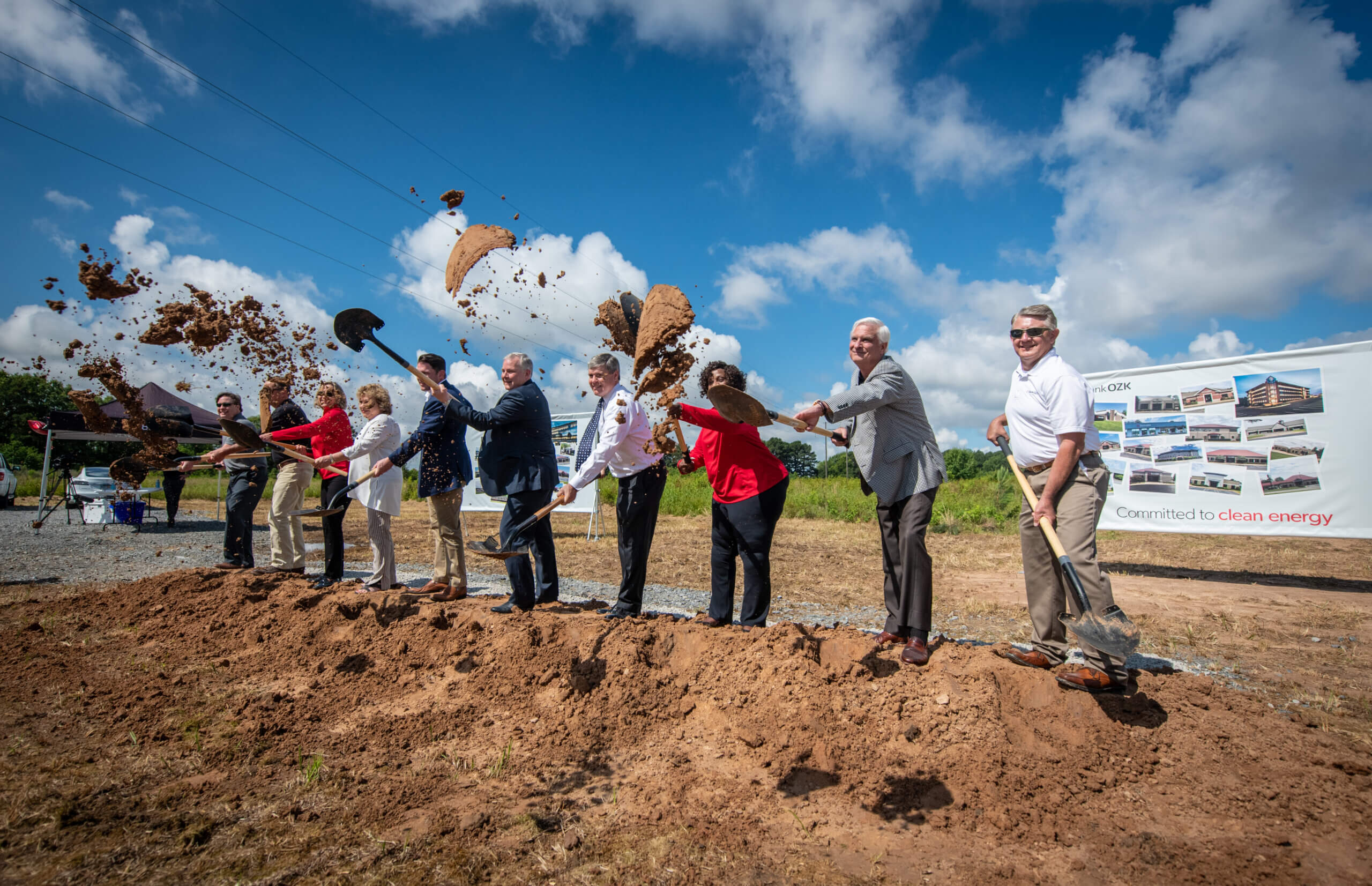 Bank OZK begins construction of the Arkansas solar power plant