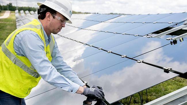 Duke Energy Sustainable Solutions lays the foundation stone for Pisgah Ridge Solar