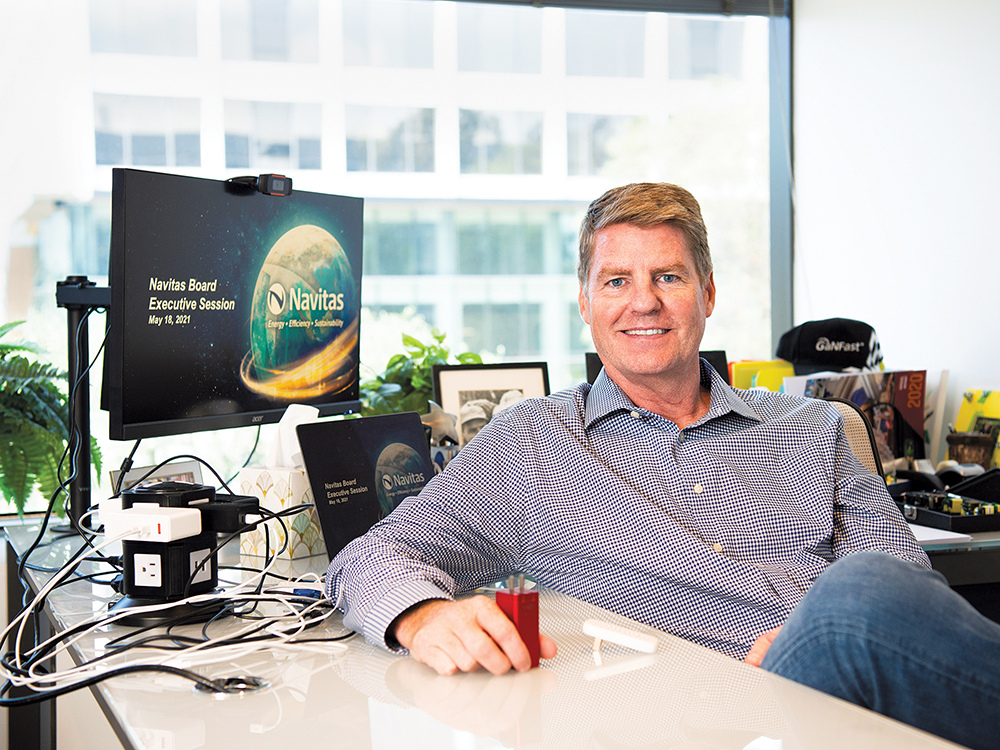 El Segundo's Navitas plans to turn the device charger market upside down with a $ 1 billion public offering - Easy Reader