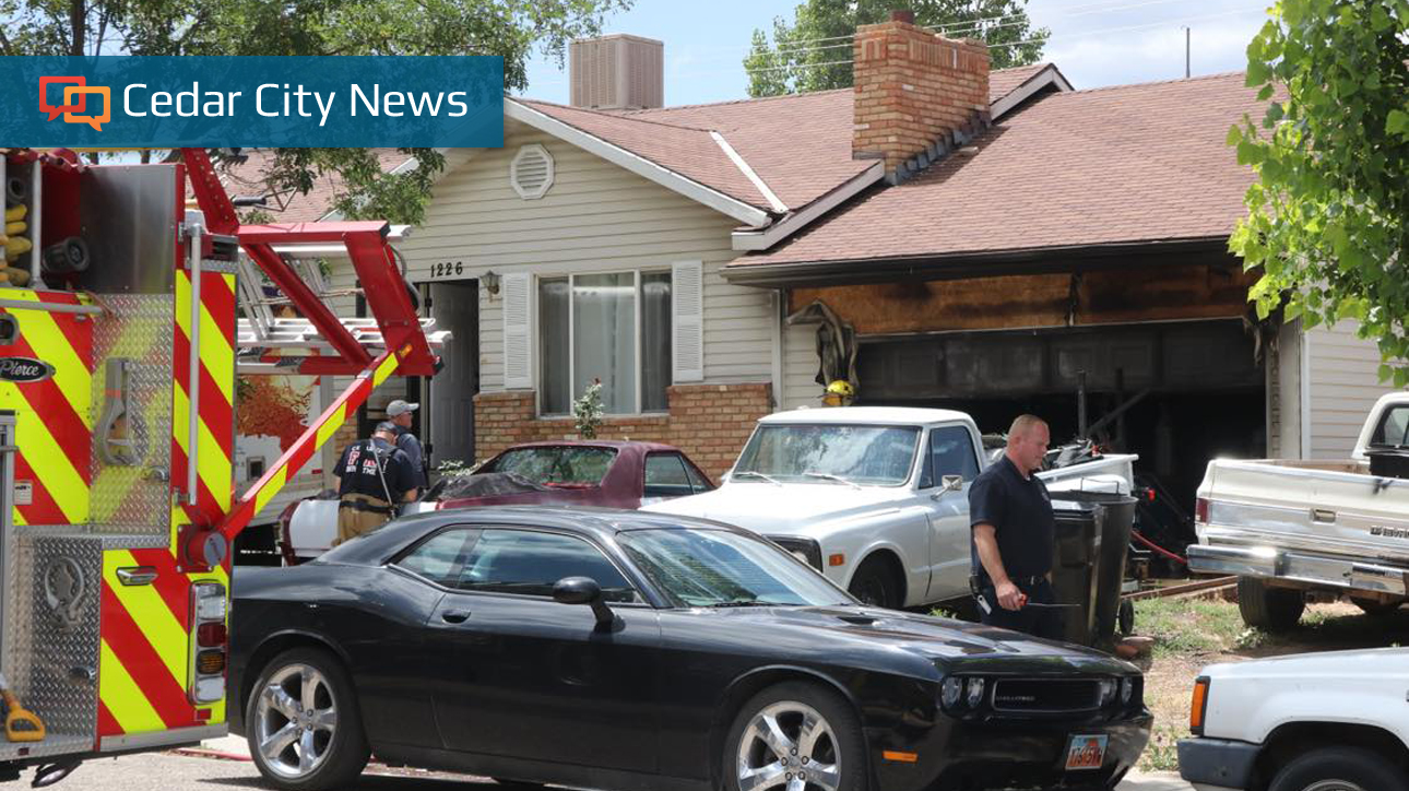 Garage fire in Cedar City caused by solar batteries overheating, officials say - News World