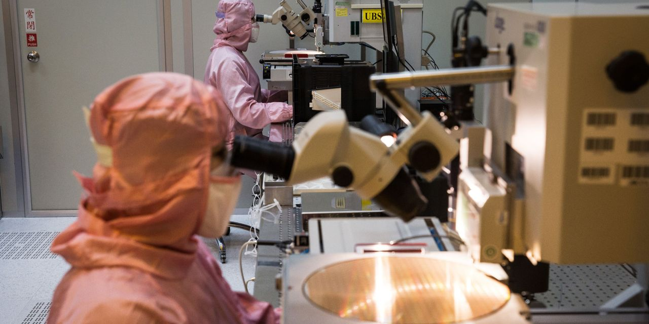 The chip shortage is forcing Taiwan to sell more expensive 12-inch wafers - Barron's