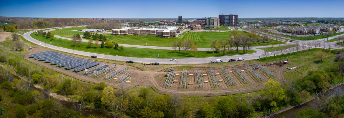 UB starts building open space solar modules