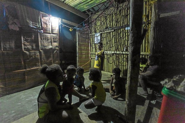 Weak Dumagat people find light, elevator in solar energy - INQUIRER.net