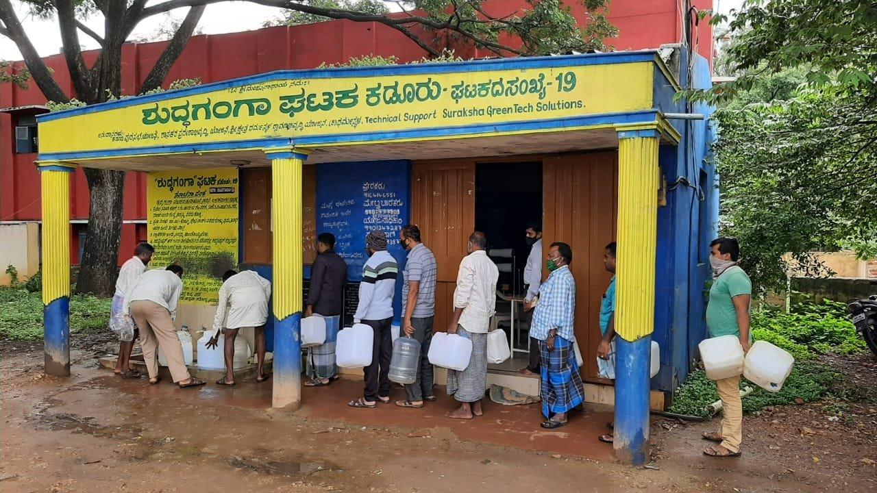 Selco Foundation installs solar inverters on 40 Shuddha Ganga units - Deccan Herald