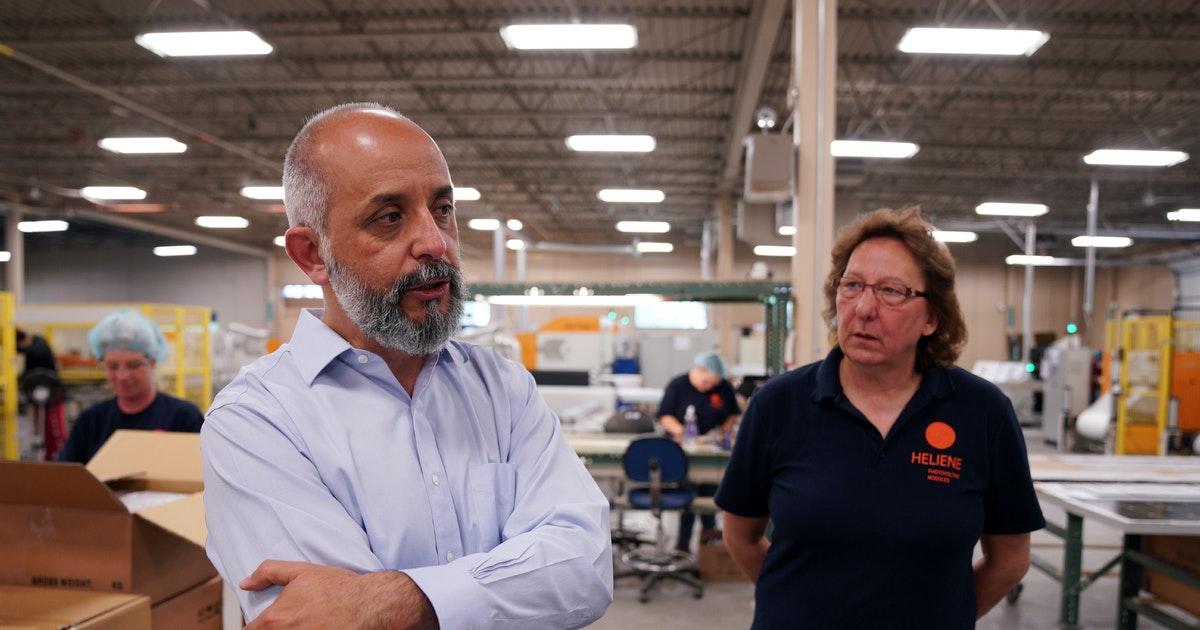 St. Anthony: Canadian solar maker expands Minnesota Iron Range - Minneapolis Star Tribune