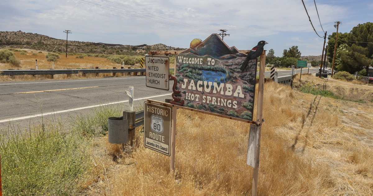 Jacumba residents sue for halting 600-acre solar project - Los Angeles Times